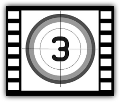 Movie Countdown 3 PNG Image