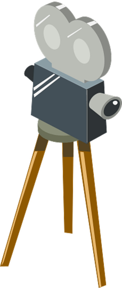Old Movie Camera Clipart PNG Image
