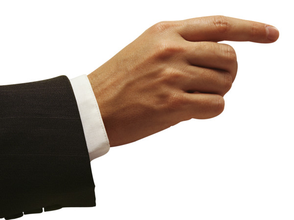 point hand  PNG Image