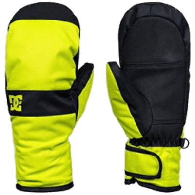 DC Snowboard Mittens PNG Image