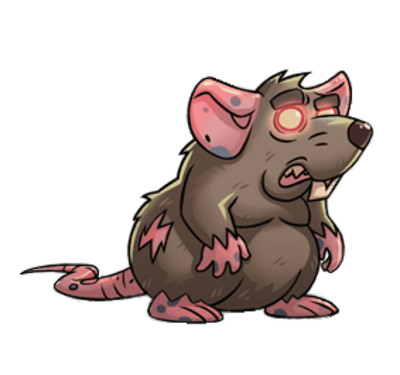 Almost A Hero Character Fat Rat PNG Image