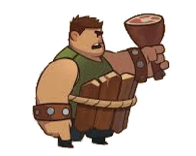 Almost A Hero Character Bellylarf PNG Image