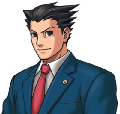 Ace Attorney Face PNG Image