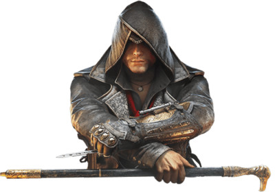 Assassins Creed Sitting PNG Image