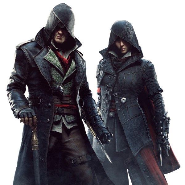 Assassins Creed Couple PNG Image