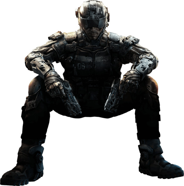 Black Ops 3 Character PNG Image