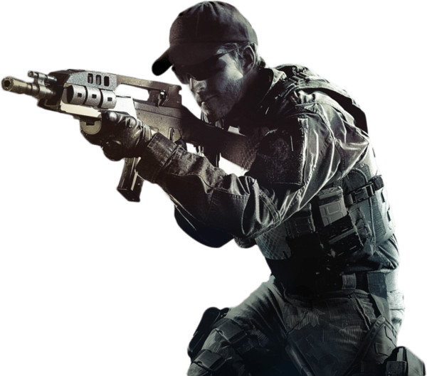 Call Of Duty Soldier PNG Image