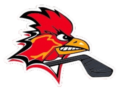 Charleroi Red Roosters Hockey Team Logo PNG Image