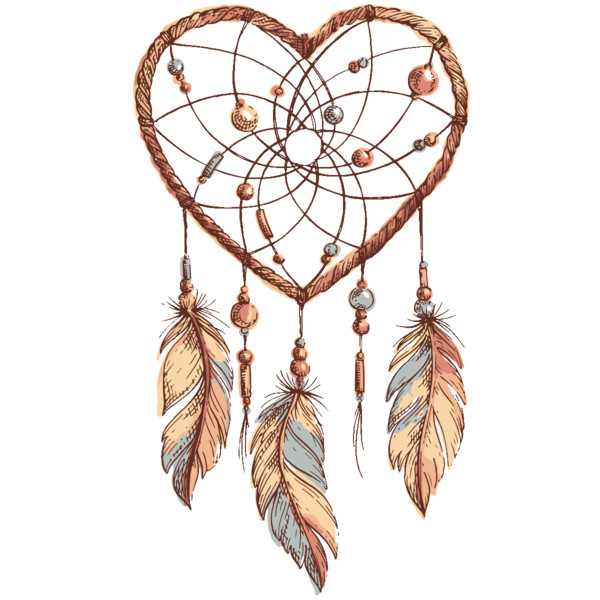 Sketch Drawing Dreamcatcher    HQ PNG Image