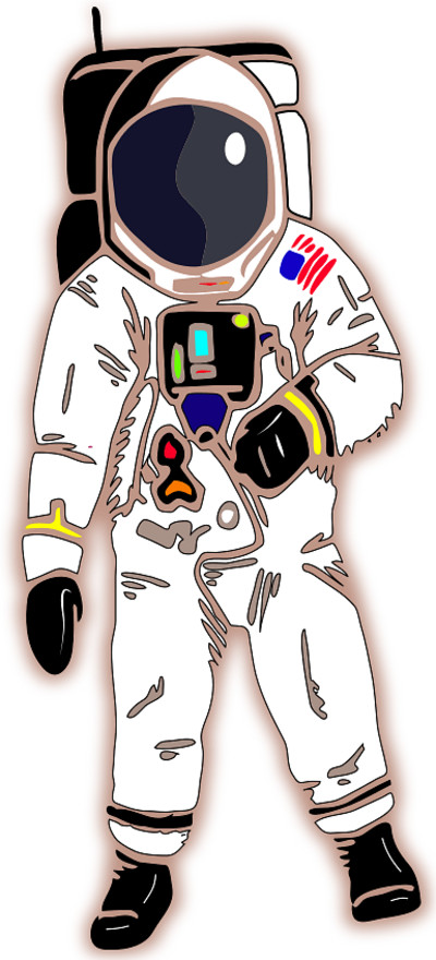 American Astronaut PNG Image
