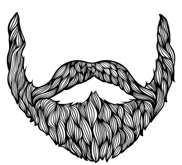 Beard Drawing - Download on PNGPX